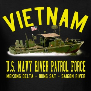 Vietnam Mark II PBR - Patrol Boat, River - Men's T-Shirt