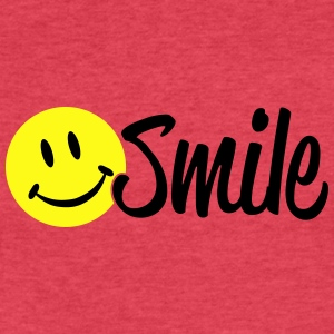 smile Tanks - Fitted Cotton/Poly T-Shirt by Next Level