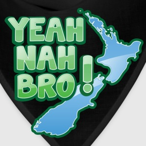 yeah nah bro NEW ZEALAND funny saying Women's T-Shirts - Bandana