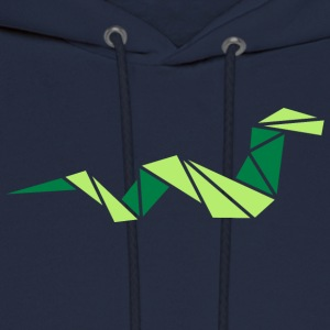 origami: smart snake Women's T-Shirts - Men's Hoodie
