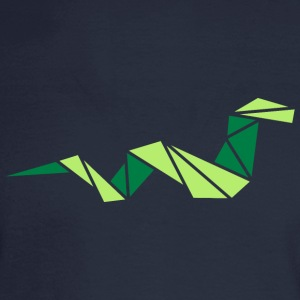 origami: smart snake Women's T-Shirts - Men's Long Sleeve T-Shirt