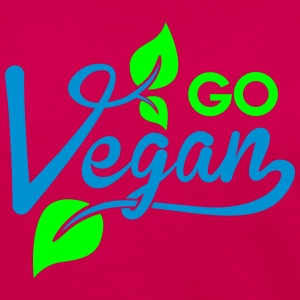 go vegan Tanks - Women's Premium Long Sleeve T-Shirt