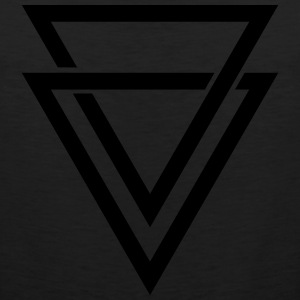 double triangle Long Sleeve Shirts - Men's Premium Tank