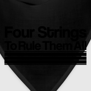 Four Strings To Rule Them All [m] - Bandana