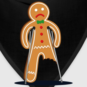 gingerbread man Kids' Shirts - Bandana