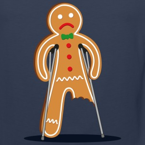 gingerbread man Kids' Shirts - Men's Premium Tank