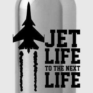 Jet life to the next life Hoodies - Water Bottle