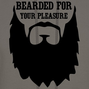 Bearded for your Pleasure T-Shirts - Men's Hoodie
