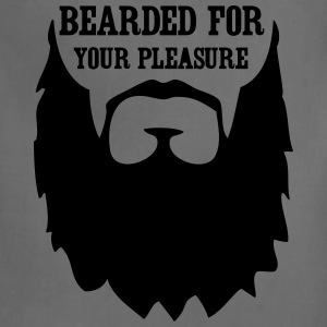 Bearded for your Pleasure T-Shirts - Adjustable Apron