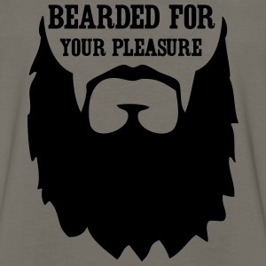 Bearded for your Pleasure T-Shirts - Men's Premium Long Sleeve T-Shirt