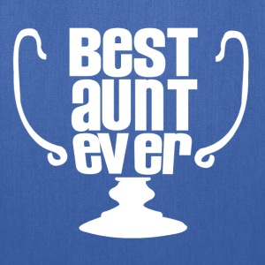 best aunt ever - Tote Bag