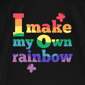 I make my own rainbow Bags & backpacks - Men's Premium T-Shirt