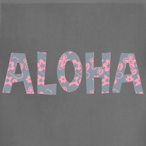 aloha flower pattern T-Shirts - Adjustable Apron