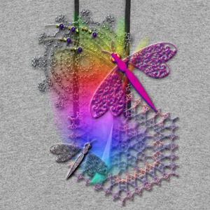 Dragonfly Lace - Colorblock Hoodie