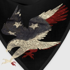 Old Glory American Flag Eagle T-Shirts - Bandana
