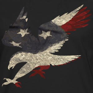 Old Glory American Flag Eagle Women's T-Shirts - Men's Premium Long Sleeve T-Shirt