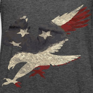 Old Glory American Flag Eagle Long Sleeve Shirts - Women's Flowy Tank Top by Bella
