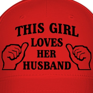 This Girl Loves Her Husband Tanks - Baseball Cap