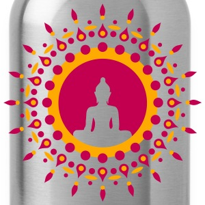 Buddha meditation, yoga, Buddhism, enlightenment Women's T-Shirts - Water Bottle