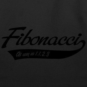 Fibonacci. As easy as 1, 1, 2, 3 T-Shirts - Eco-Friendly Cotton Tote