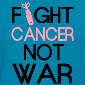 Fight Cancer Tank  - Women's T-Shirt