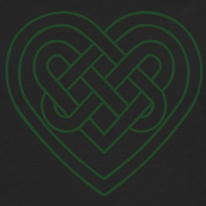 Celtic heart, symbol - infinite love & loyalty Women's T-Shirts - Men's Premium Long Sleeve T-Shirt