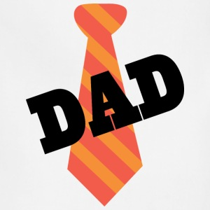Dad Father's Day Mens T-shirt (Necktie) - Adjustable Apron