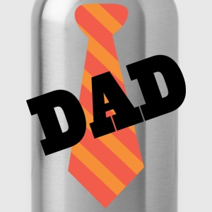 Dad Father's Day Mens T-shirt (Necktie) - Water Bottle