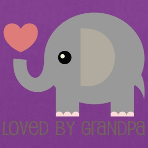 Loved By Grandpa Baby t-shirt (elephant) - Tote Bag