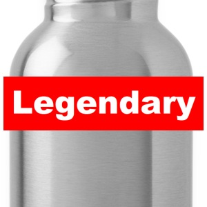 Legendary Grey Crewneck - Water Bottle