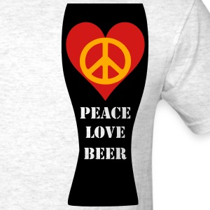 Peace Love Beer Men's Sweatpants (Light Oxford) - Men's T-Shirt