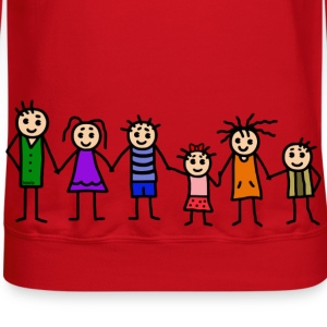 large family - patchwork family - colorful T-Shirts - Crewneck Sweatshirt