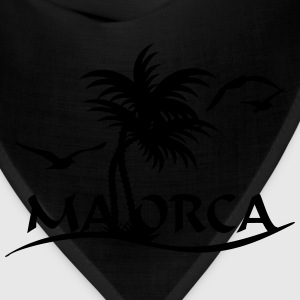 Mallorca palm trees (1c) T-Shirts - Bandana