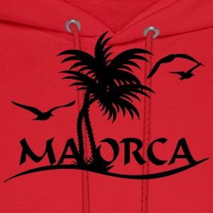 Mallorca palm trees (1c) Women's T-Shirts - Men's Hoodie