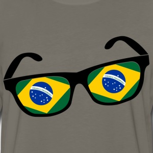 Brazilian glasses - Men's Premium Long Sleeve T-Shirt