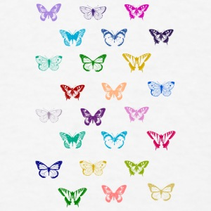 Rainbow vintage butterflies Baby & Toddler Shirts - Men's T-Shirt