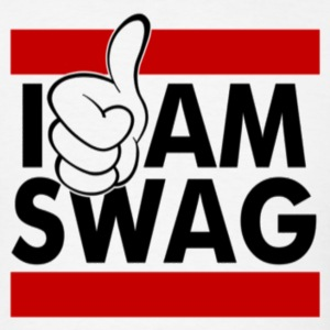 I AM SWAG WOMEN'S TANK TOP - Men's T-Shirt