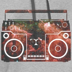 Cosmic Boombox T-Shirts - Contrast Hoodie