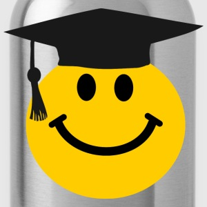 Graduate Smiley face Kids' Shirts - Water Bottle