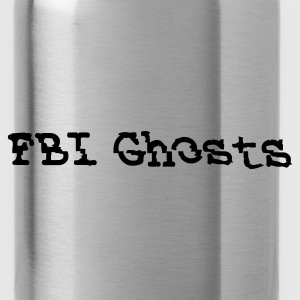 FBI Ghosts official Logo  Caps - Water Bottle