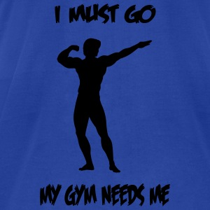 mygym Tanks - Men's T-Shirt by American Apparel
