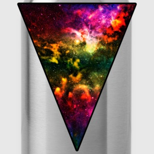 Colorful Galaxy Triangle Women's T-Shirts - Water Bottle