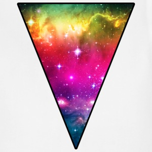Rainbow Space Triangle T-Shirts - Adjustable Apron