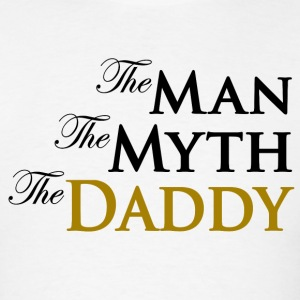 The Man The Myth The Daddy Long Sleeve Shirts - Men's T-Shirt