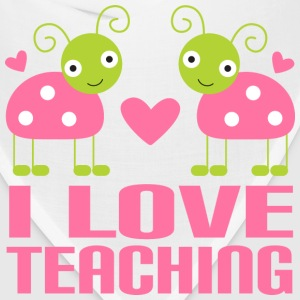 Teacher T-shirt (I Love Teaching) - Bandana