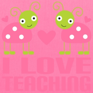 Teacher T-shirt (I Love Teaching) - Tote Bag