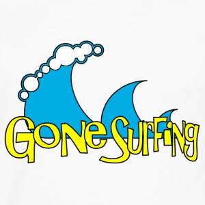 Gone Surfing T-Shirts - Men's Premium Long Sleeve T-Shirt