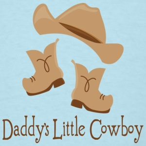 Daddy's Little Cowboy Baby T-shirt - Men's T-Shirt