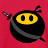 Ninja smiley face Kids' Shirts - Kids' Long Sleeve T-Shirt