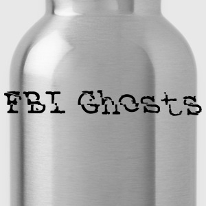 FBI Ghosts official Logo T-Shirts - Water Bottle